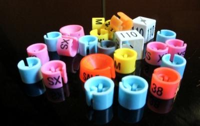размерники, цветовая гамма